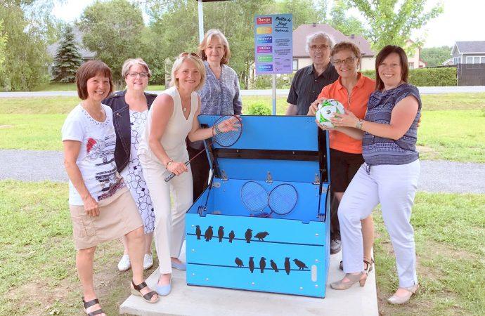 Des boîtes à jeux font leur apparition aux quatre coins du territoire de la MRC de Drummond!