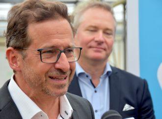 Yves-François Blanchet à Drummond lors de l'assemblée générale annuelle du Bloc Québécois