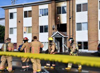 Incendie à Drummondville une dizaine de locataires pris en charge par la Croix-Rouge