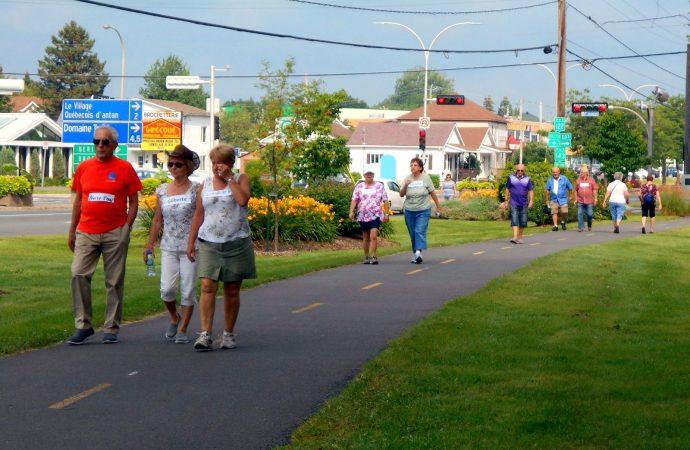 La Fondation Michel Gouin organise pour la 4e année, la Grande marche pour les aînés de Drummondville