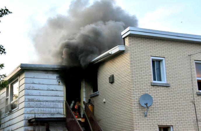 Un feu de résidence cause d'importants dommages à Drummondville