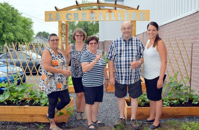 """Inauguration du jardin collectif """"La Crémaillère"""" à Drummondville"""