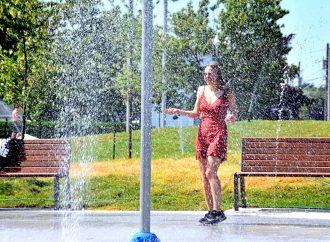 Accès aux jeux d'eau de façon temporaire en période de canicule à Drummondville