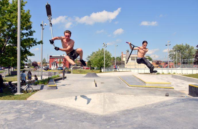 """Le """"skate plaza urbain"""" : du plaisir rafraîchissant juste à temps pour les vacances !"""