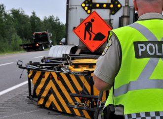 Opération ORANGE 2020 – Respectons les limites de vitesse dans les zones de chantiers