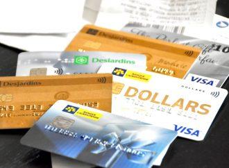 Le paiement minimum des cartes de crédit augmentera graduellement jusqu'à 5 % du solde
