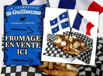 Arrivée du premier fromage à poutine Québécois en France !