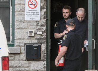 Femme brûlée vive à Québec, Frej Haj-Messaoud a comparu à Québec