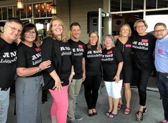 Rassemblement en soutien à La Voix de l'Est – La communauté répond : PRÉSENT !