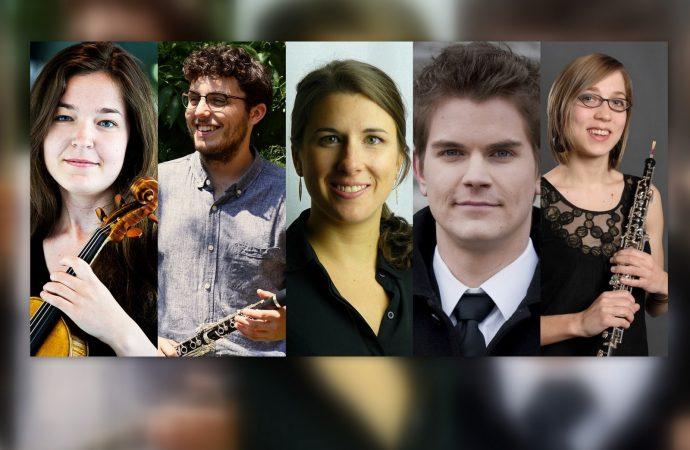 Cinq nouveaux musiciens à l'Orchestre symphonique de Drummondville,