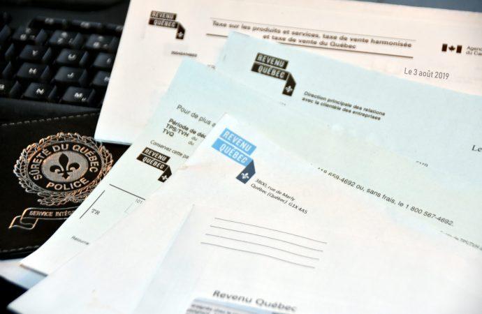 Deux personnes arrêtées pour le vol de données personnelles à Revenu Québec