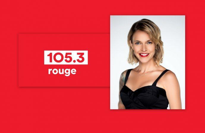 Brigitte Boisjoli débarque au 105.3 Rouge Drummondville !