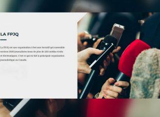 La Fédération professionnelle des journalistes du Québec lance la campagne « Je soutiens mon journal »