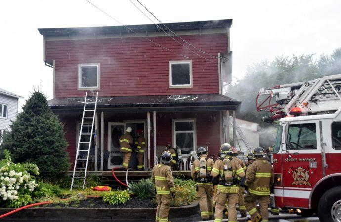 Une maison centenaire et patrimoniale sauvée grâce à l'intervention des pompiers de NDBC