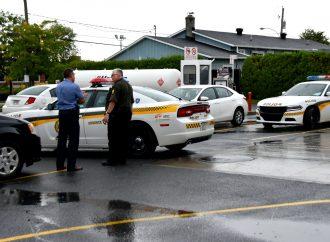 Un individu de 39 ans arrêté par les policiers de la SQ Drummond après avoir immolé son ex-conjointe à Québec