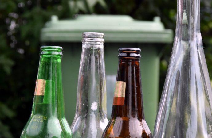 Recyclage du verre – Le verre du bac bientôt transformé en bouteilles