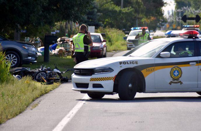 Un deuxième motocycliste perd la vie sur la route 122 en quelques heures