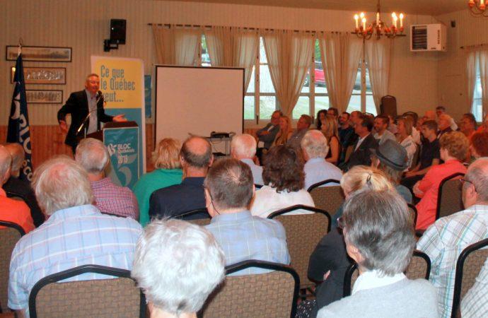 Martin Champoux fait de la proximité avec ses électeurs un engagement