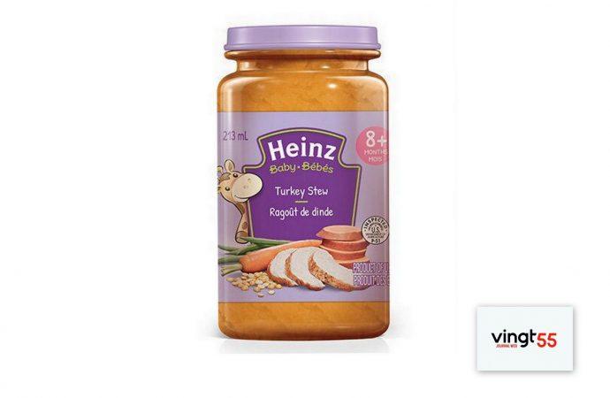 Rappel d'aliments – Kraft Heinz Canada rappelle des pots pour bébé en raison de la présence d'insectes