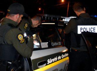 """Suspect de vol qualifié, une arrestation qui a du """"mordant"""" à Drummondville"""