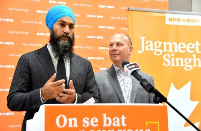 Pénurie de main-d'œuvre – Jagmeet Singh augmentera le transfert en immigration pour le Québec
