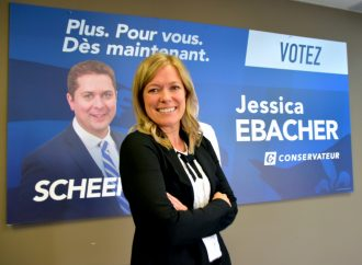 Jessica Ebacher à la défense des producteurs agricoles