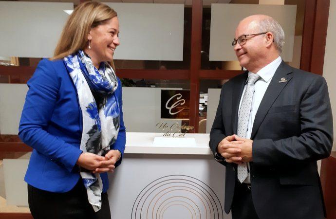 ''Un Cadeau du ciel'' la Drummondvilloise Marie-Ève Chamberland signe un important partenariat avec Victoriaville & CO
