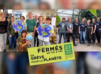 Manifestation mondiale sur la crise climatique du 27 septembre, deux entreprises d'ici s'impliquent concrètement à Drummondville