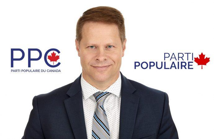 Panique chez les Conservateurs selon Steeve Paquet du Parti populaire du Canada