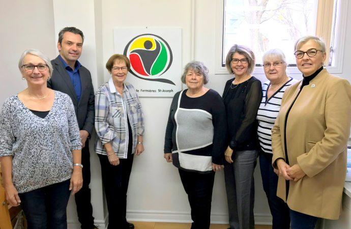 Sébastien Schneeberger souligne le 80e anniversaire du Cercle de Fermières St-Joseph