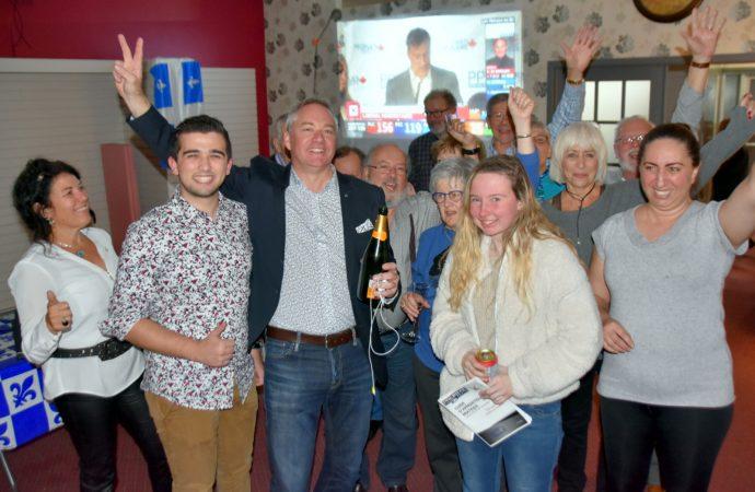 Élections 2019 – Martin Champoux l'emporte à Drummondville pour le Bloc Québécois