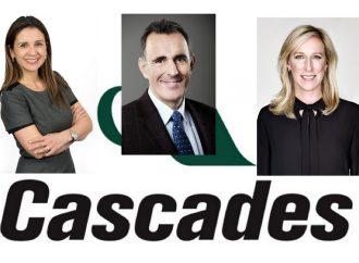 Cascades annonce la nomination de trois nouveaux administrateurs