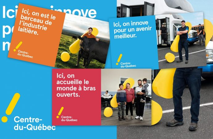 Centre-du-Québec – Ici, on fait bouger les choses! Lancement d'une campagne publicitaire d'envergure pour la région