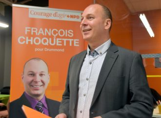 Élections fédérales François Choquette fier de sa campagne positive