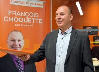 François Choquette fait un rappel des engagements du NPD envers les femmes