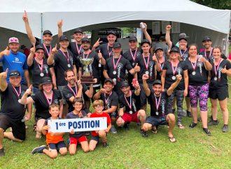 Coupe du Québec de bateau dragon des émotions fortes pour l'équipe de Drummondville