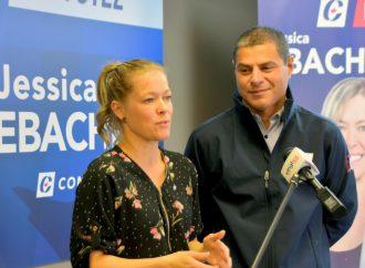 Jessica Ebacher candidate conservatrice confiante de pouvoir en offrir plus pour la région de Drummond
