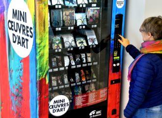 La distributrice d'œuvres d'art déménage aux Promenades Drummondville!