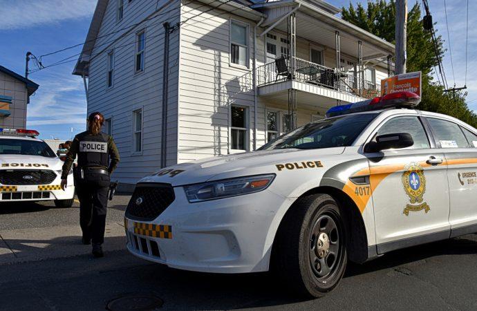 Perquisition et arrestation pour recel sur le Boul Mercure à Drummondville