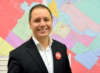 William Morales le candidat dans Drummond compte sur votre appui