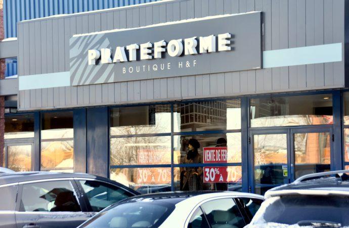 La Boutique Plateforme de Drummondville fermera ses portes