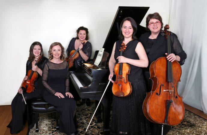 Anne-Marie Dubois s'exécute dans 2 concerts dont un avec le Quatuor Claudel-Canimex.