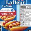 Rappel de Saucisses fumées original de marque Lafleur en raison de la bactérie Listeria