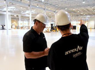 Annexair réinvestit 7 millions de dollars en prévision de la forte demande pour son nouveau produit