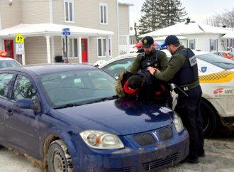 Un chauffard force une courte poursuite policière à Drummondville