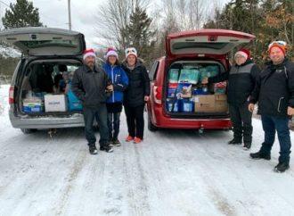 Les petits bonheurs du cœur récidivaient à Noël pour aider des familles Drummondvilloises