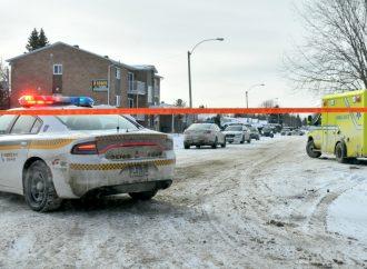Le GTI nécessaire pour mettre fin à l'intervention de la 122e avenue à Drummondville