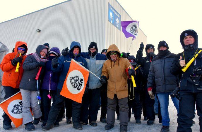 Olymel – Mobilisation à Drummondville en appui aux grévistes de Princeville