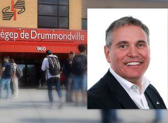 Rock Moisan à la présidence du conseil d'administration de la Fondation du Cégep de Drummondville