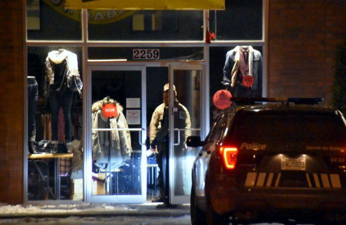 Un voleur s'en prend au coffre-fort d'un commerce à Drummondville